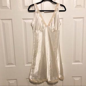 Victoria's Secret Lace Trimmed Slip/Nighty Size M